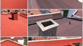 çadırcılar apartmanı çatı uygulaması